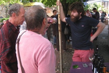 'Le Barbu': Fabien Jouves from Mas del Périé in Cahors.