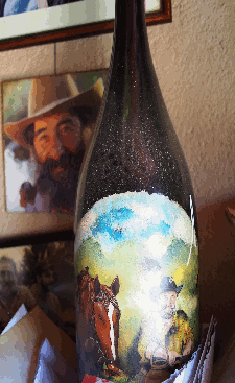 Pierrot even has his own cuvée, complete with hand-painted montagnard.